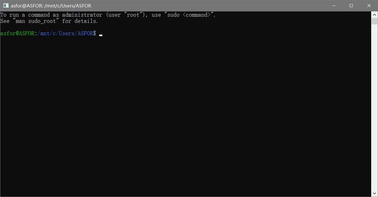 进入Ubuntu系统