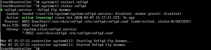 启动FTP服务
